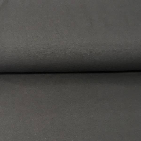 Øko stretch jersey mørk grå (160)